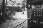 Trondheim Mellomveien 5 telefonkiosk phone booth knapper buttons utsikt view